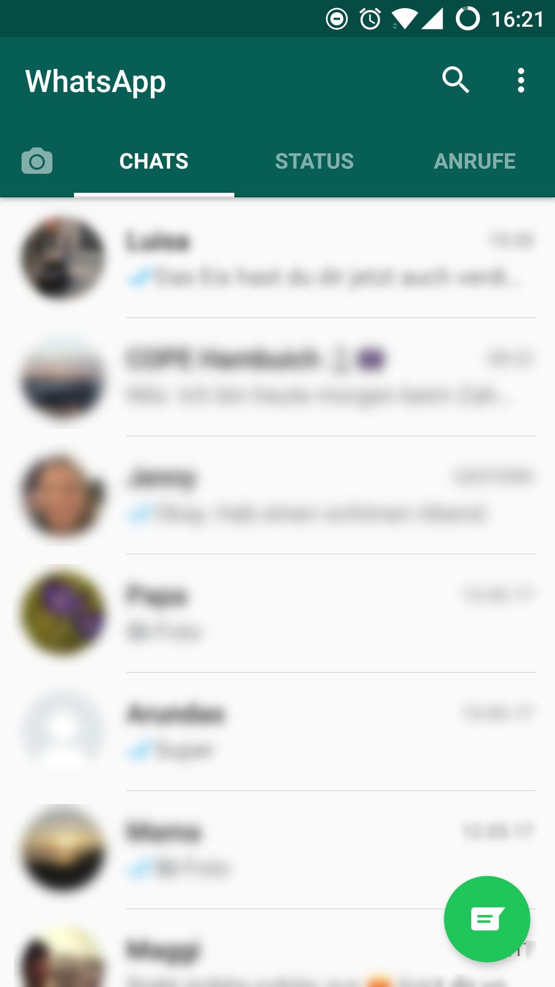 Screenshot 1 - WhatsApp Messenger (APK)