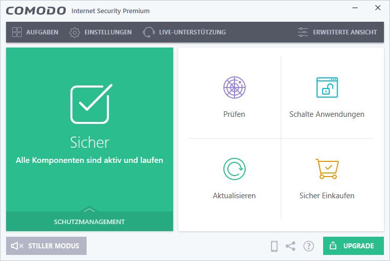 Screenshot 1 - Comodo Internet Security