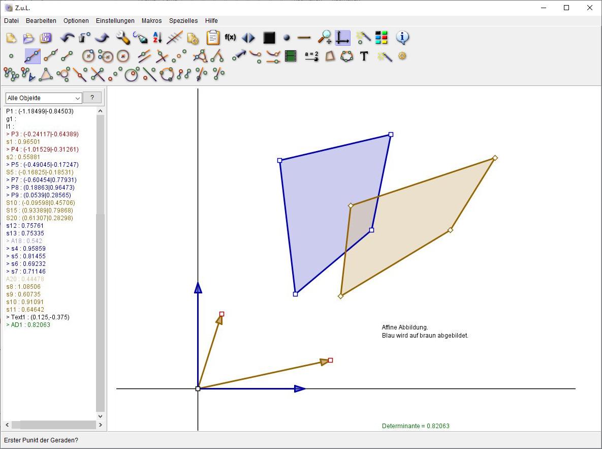 Screenshot 1 - Zirkel und Lineal