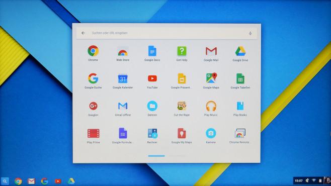 Chrome OS©COMPUTER BILD