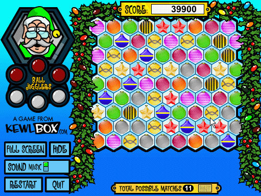 Screenshot 1 - Santa Balls 2 (Mac)
