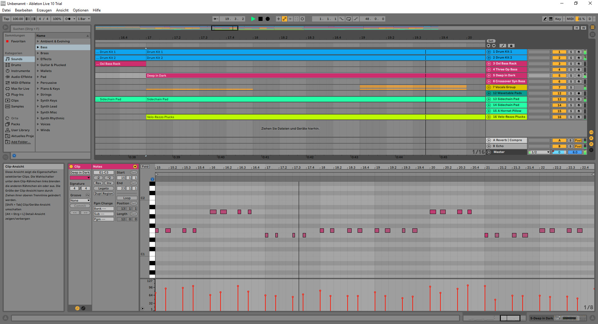 Screenshot 1 - Ableton Live