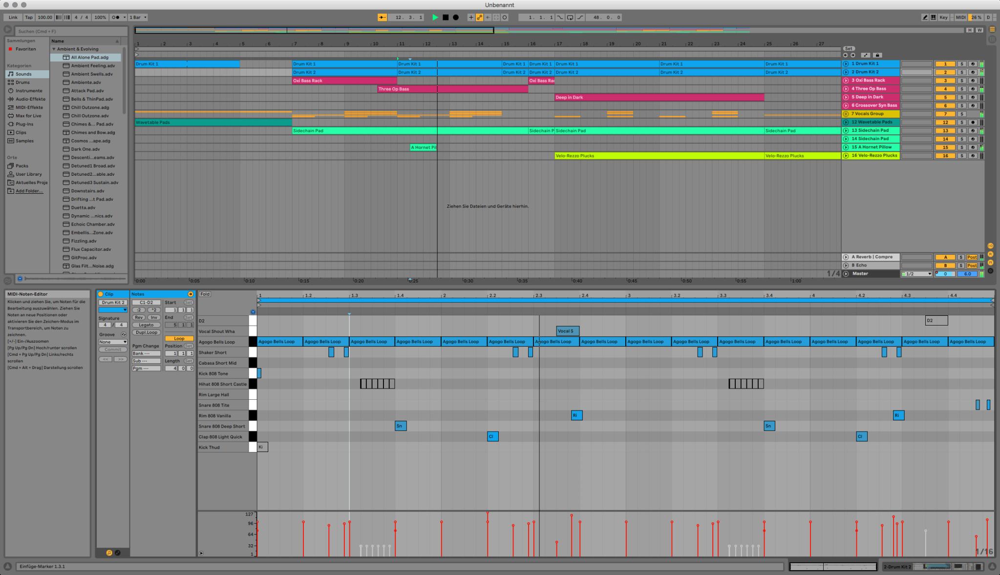 Screenshot 1 - Ableton Live (Mac)