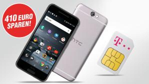 Top Telekom-Tarif plus HTC One A9 sichern©HTC/Telekom/GetHandy/Mobilcom Debitel/COMPUTER BILD