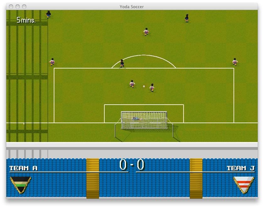 Screenshot 1 - Yoda Soccer (Mac)