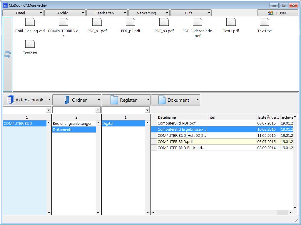 Screenshot 1 - ClaDoc