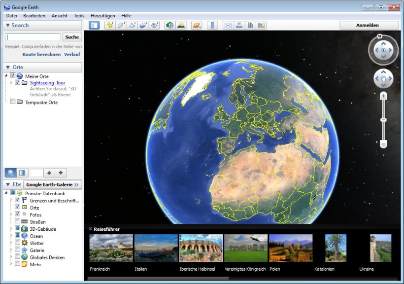 Screenshot 1 - Google Earth