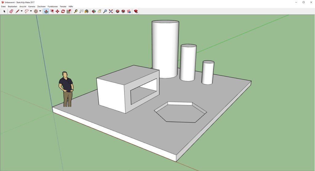 Screenshot 1 - SketchUp Make