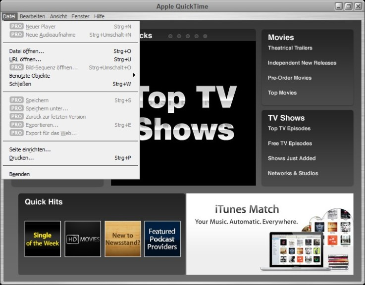 Quicktime 7 pro for windows with keygen | Quicktime Player