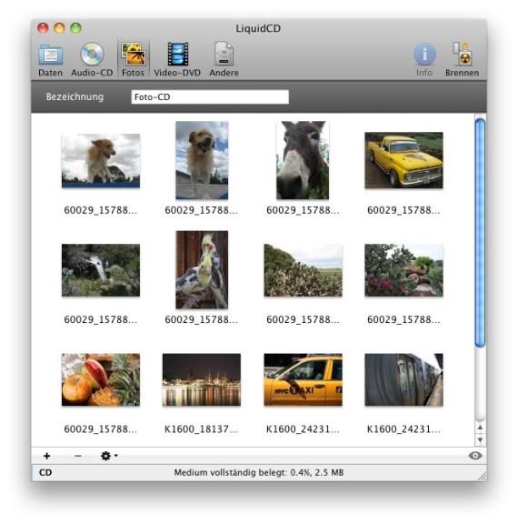 Screenshot 1 - LiquidCD (Mac)