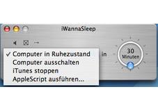 Screenshot 1 - iWannaSleep (Mac)