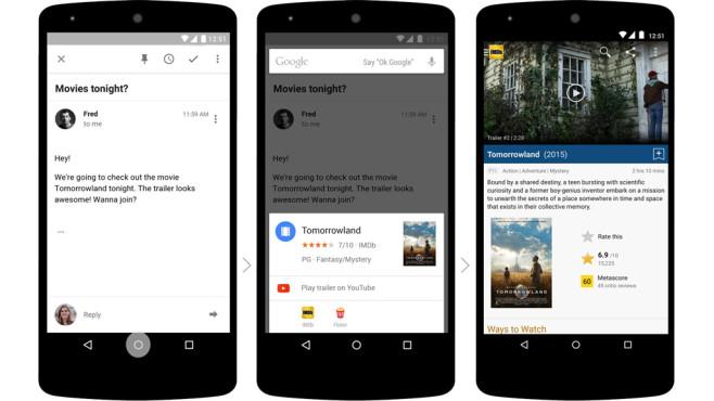 Google Now On Tap©Google