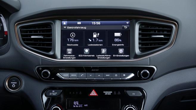 Hyundai EV Menü©COMPUTER BILD