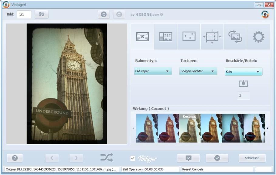 Screenshot 1 - Vintager