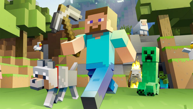 Minecraft WiiUVersion Veröffentlicht COMPUTER BILD SPIELE - Minecraft online spielen wii u