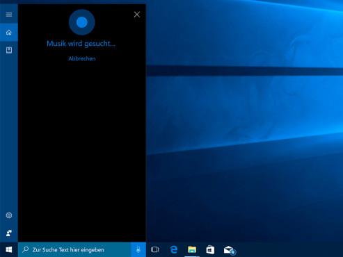 Windows 10: Cortana – Musiktitel erkennen ©COMPUTER BILD