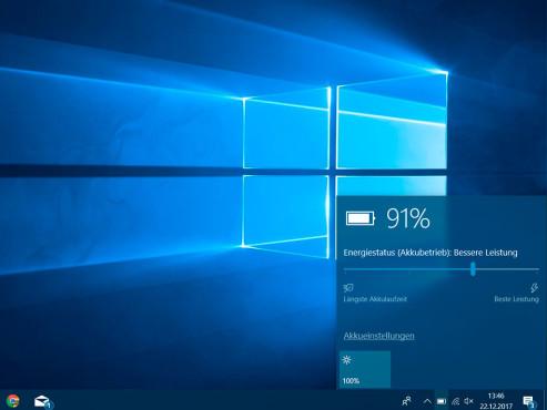 Windows 10: Energiespareinstellungen justieren ©COMPUTER BILD
