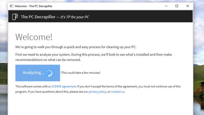 Windows 10: PC Decrapifier ©COMPUTER BILD
