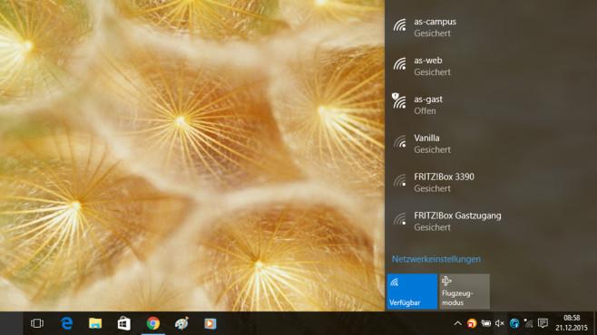 Windows 10: PC mit WLAN verbinden ©COMPUTER BILD