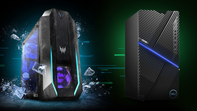 Gaming-PC-Test©Acer, Dell