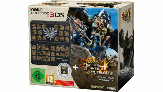 Nintendo New 3DS + Monster Hunter 4 Ultimate Pack © Media Markt