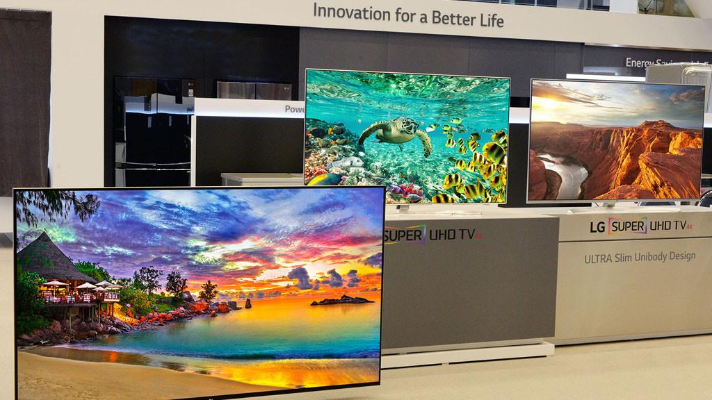 LG auf der CES 2015©LG Electronics