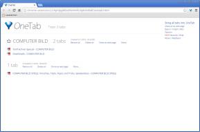 OneTab für Chrome