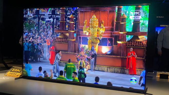 Fernseher 2020 Sony Bravia Z8H©COMPUTER BILD