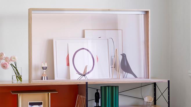 Von 8K bis zum durchsichtigen OLED-TV: Die Fernseher-Highlights auf der IFA Schöne Vitrine: Panasonic verkauft den transparenten OLED-Bildschirm als Wohn-Schmuckstück.©Panasonic