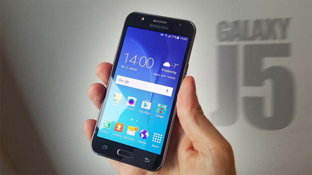 Test Samsung Galaxy J5 Computer Bild