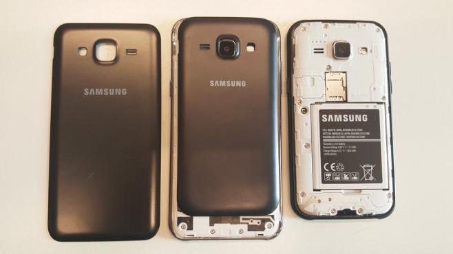 Samsung Galaxy J5 vs Galaxy J1©COMPUTER BILD