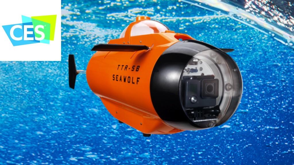 CES 2016: Unterwasserdrohne TTR-SB Seawolf