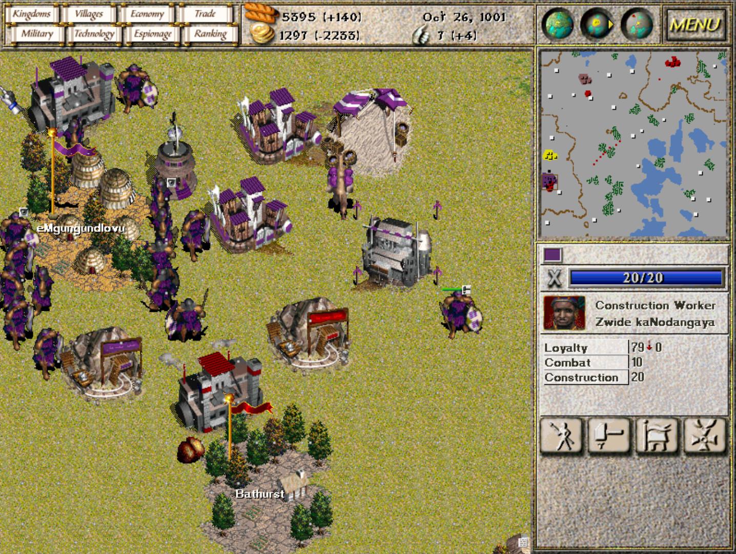 Screenshot 1 - Seven Kingdoms