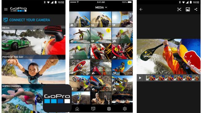 GoPro App ©GoPro RM