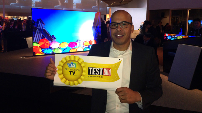 Best Product Award TV: Sony Bravia A1 © COMPUTER BILD