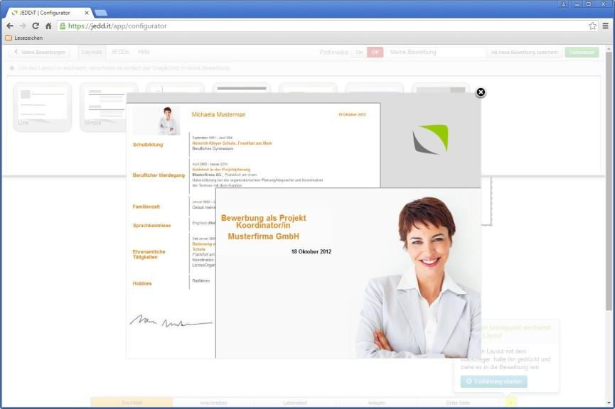 Screenshot 1 - JEDDiT