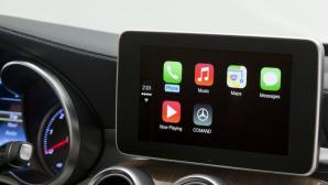 Mercedes A Klasse mit Apple CarPlay©Mercedes