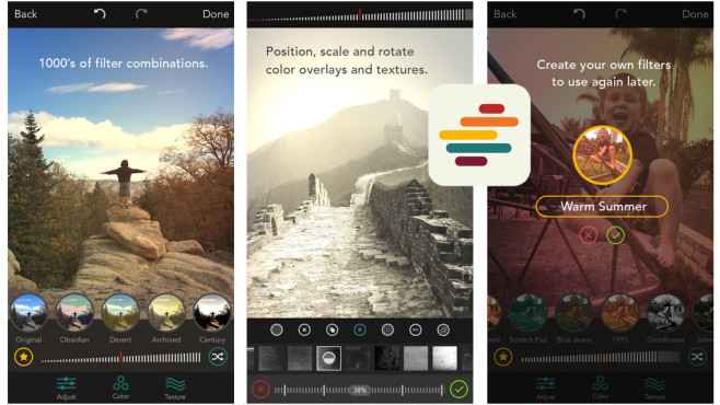 Shift – Create Custom Filters © Pixite LLC