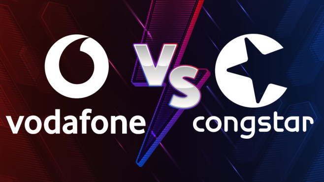 Vodafone CallYa Flex vs. Congstar Prepaid wie ich will©Congstar, Vodafone, iStock.com/FallenKnight