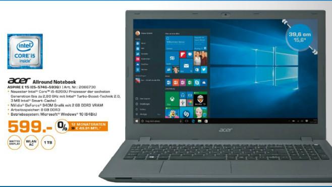 Acer Aspire E5-574G-593Q ©Saturn