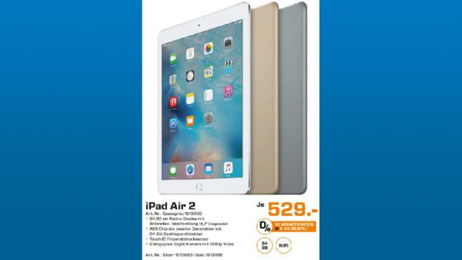 Apple iPad Air 2 64GB WiFi ©Saturn
