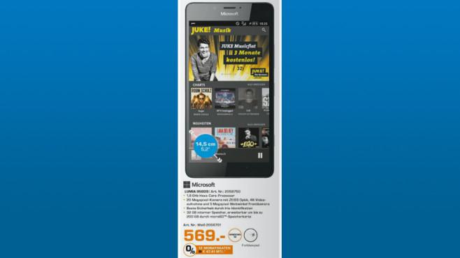 Microsoft Lumia 950 ©Saturn