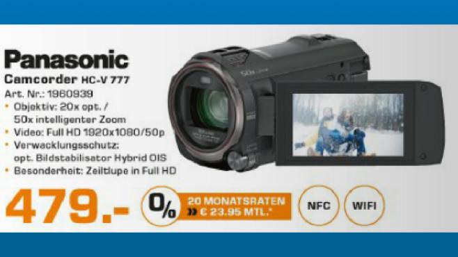 Panasonic HC-V777 ©Saturn
