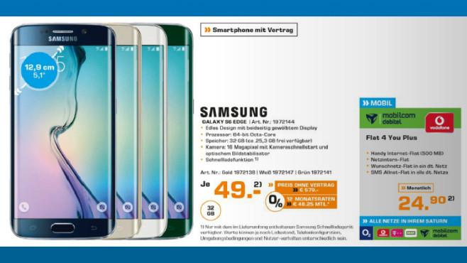 Samsung Galaxy S6 Edge ©Saturn