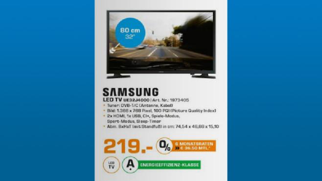 Samsung UE32J4000 ©Saturn
