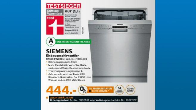 Siemens SN56P580EU ©Saturn