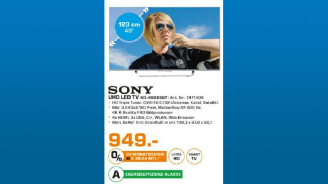 Sony KD-49X8307C ©Saturn