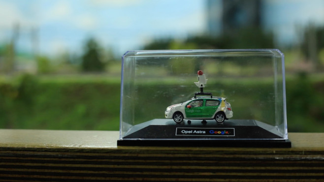 Street View Miniatur Wunderland©Google, COMPUTER BILD