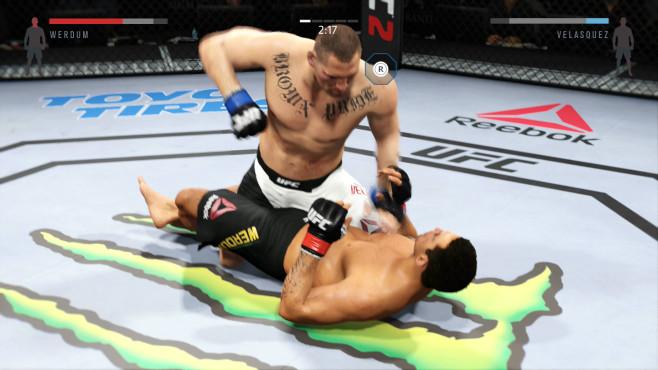 EA Sports UFC 2: Ground and Pound©EA