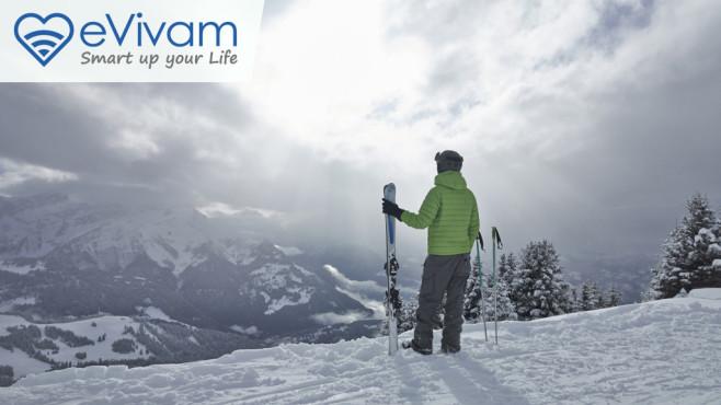 Skiläuferin auf der Piste©Dougal Waters/gettyimages
